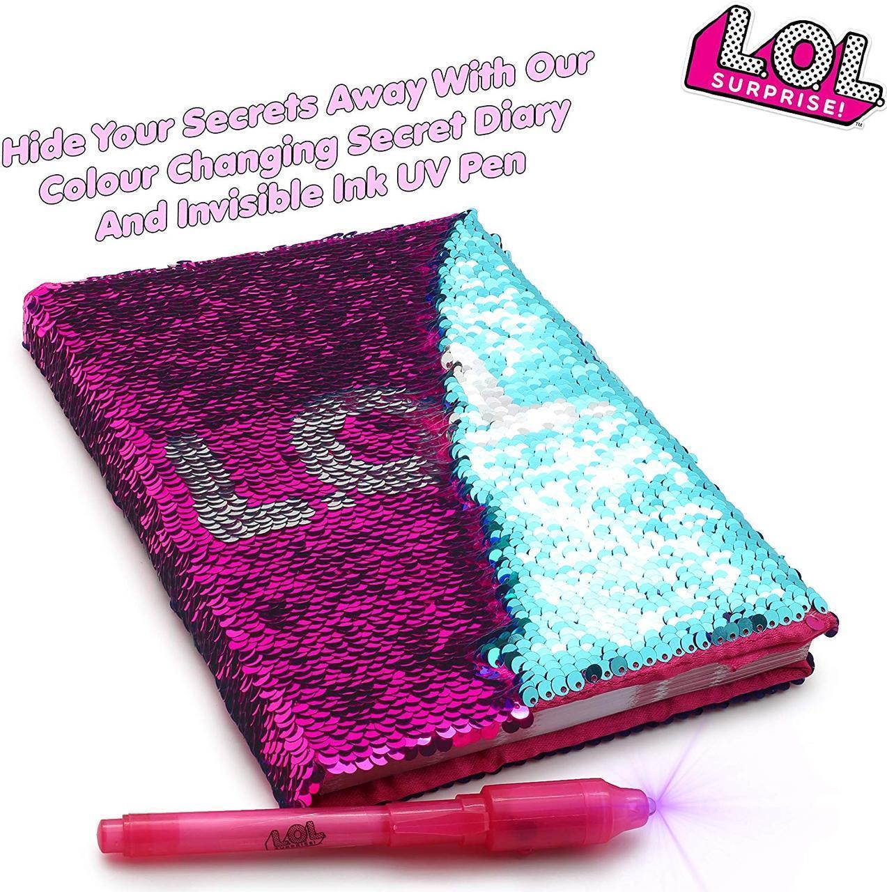 ЛОЛ Дневник Секретный с пайетками ( L.O.L. Surprise! Girls Secret Diary. ЛОЛ Секретний щоденник )