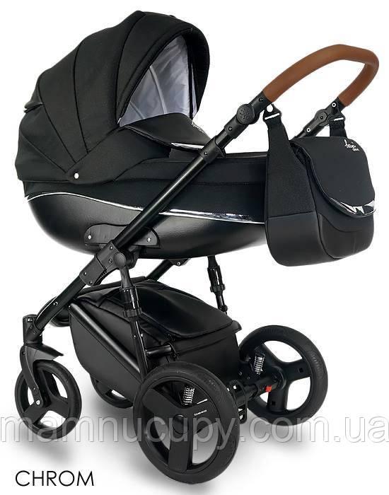 Детская универсальная коляска 2 в 1 Bexa Chrom IN14 (бекса хром)