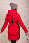 Женская зимняя куртка с пояском сезона 2019-20 - (модель кт-4), фото 3