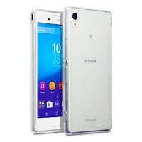 Силиконовый чехол ультратонкий Epik для Sony Xperia M4 Aqua DS E2312 прозрачный