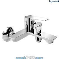 Смеситель для ванны IMPRESE KUCERA, хром 35мм.