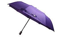 Зонт женский фиолетовый полуавтомат - 9 карбоновых спиц, (12135 purpur), фото 1