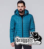 Braggart Evolution 1272 | Мужская ветровка бирюзовая
