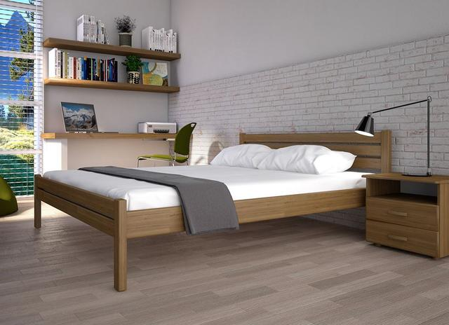 Кровать полуторная Классик орех