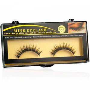 Норковые накладные ресницы Mink Eyelashes™ - 006 - 10 мм