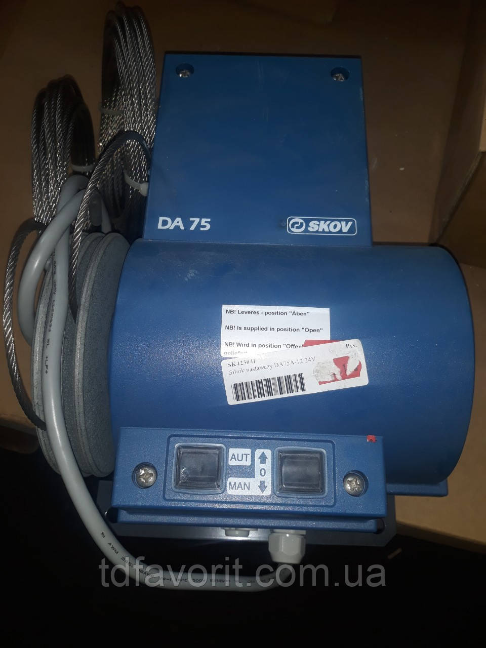 Серводвигатель Skov DA 75A-12 -24 V