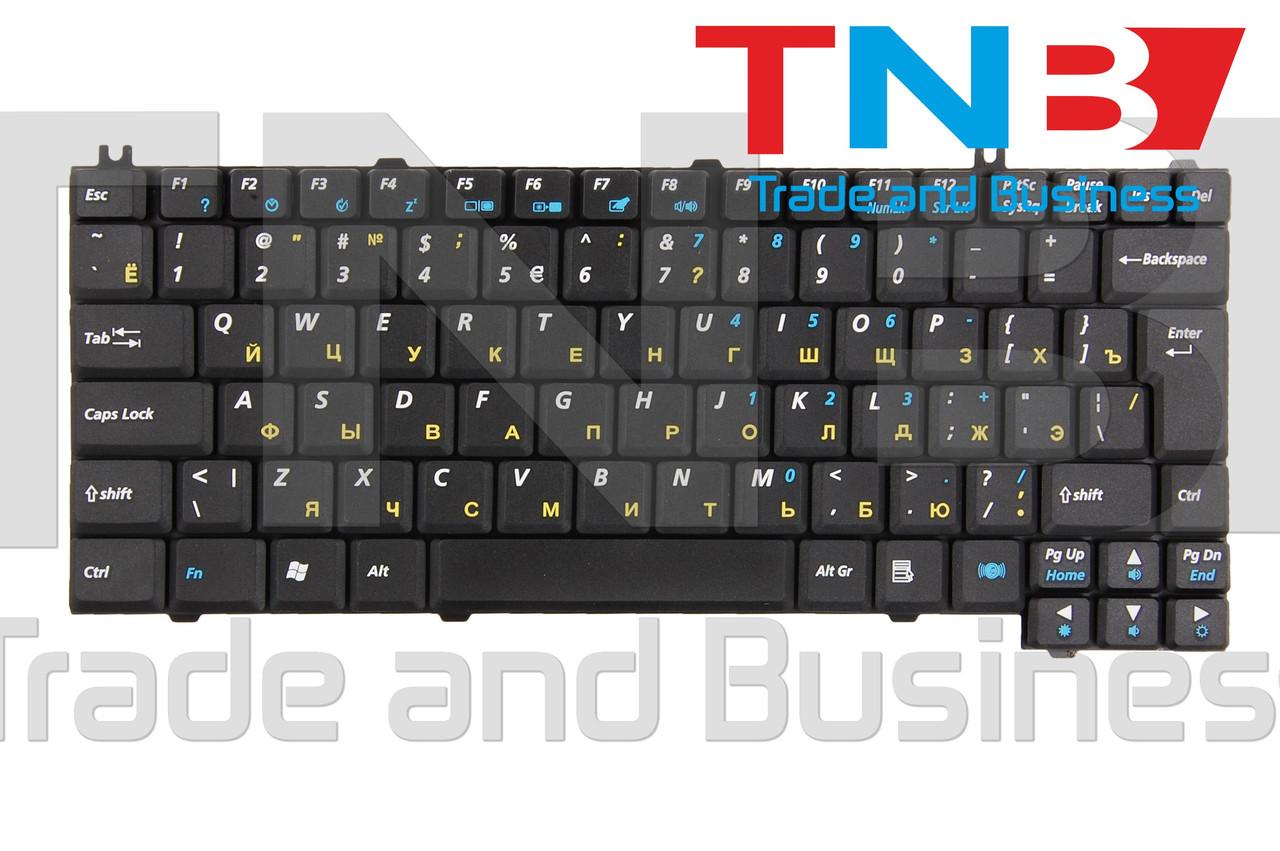 Клавиатура ACER K02110211U1 K02110217 K021102I1 K021102I7.UI K021102L1UL KB.A1402.001KB.T350C.002 Черная