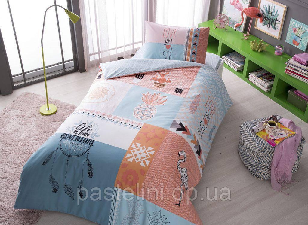 Тас Dolly somon  подростковое постельное бельё простынь на резинке