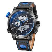 Мужские часы Weide Premium Blue Оригинал + Гарантия!