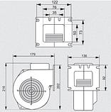 Комплект автоматики для твердотопливного котла  TAL RT-22 + WPA-117 (Польша), фото 4