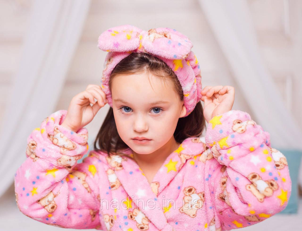 Косметическая повязка для волос Eirena Nadine (215-625) розовая