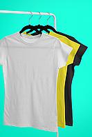Базовые хлопковые футболки для нанесения надписей и принтов методом шелкографии или для прямой печати