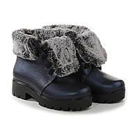VM-Villomi Синие ботинки с мехом