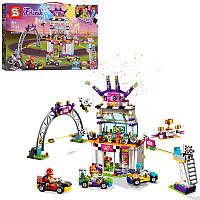 """Конструктор SY1060 (Аналог Lego Friends 41352) """"Большая гонка""""678 детали, фото 1"""