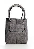VM-Villomi Войлочная сумка-авоська с черными вставками