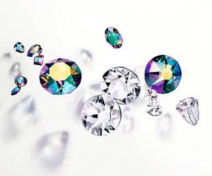 """Стразы Xirius 8+8 холодная фиксация """"Crystal Premium"""""""