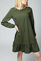 VM-Villomi Летнее платье цвета хаки