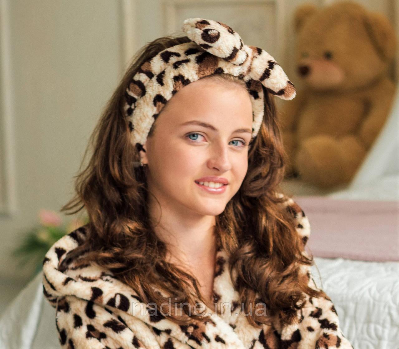 Повязка на голову Eirena Nadine (215-654) леопард