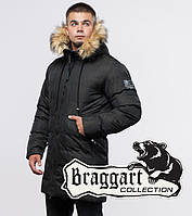 Braggart Youth | Зимняя куртка 25410 темно-зеленая