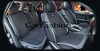 Накидки на сидения CarFashion Мoдель: CAPRI PLUS  черный, серый, серый     (22249), фото 1