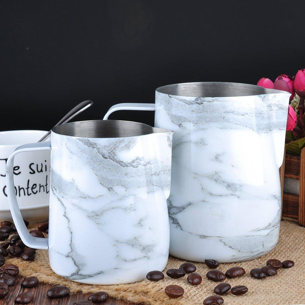 """Питчер для молока (молочник, джаг) Barista Space """"Marble"""" 600 мл"""