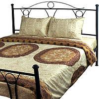 """Комплект постельный Руно™ """"Frоnt beige"""" 143х215см сатин-люкс, фото 1"""