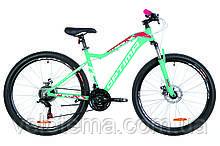 "Велосипед 27.5"" Optimabikes ALPINA AM 14G DD рама-17"" Al блакитний з малиновим 2019"