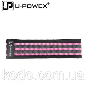 Фитнес резинки U-Powex Pro (Розовая 3-55 кг)ОРИГИНАЛ, фото 2