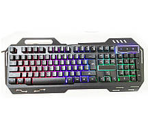 Проводная компьютерная клавиатура Kronos GK-900 KW 900 с подсветкой Black (sp_4400)