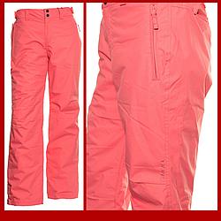 Жіночі гірськолижні штани ONeil Pwes M Frame Pink - 187949