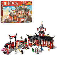 "Конструктор SY1255 (Аналог Lego Ninjago 70670) ""Монастырь Кружитцу"" 1154 детали, фото 1"