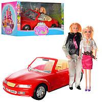 Ляльки Сім'я з машинкою 66742