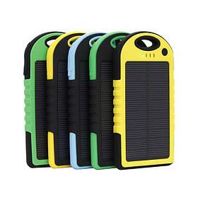 Зарядка от солнца 5000 mha/ 1A, телефон, планшет