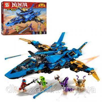 """Конструктор SY1254(Аналог Lego Ninjago 70668) """"Штормовой истребитель Джея"""" 508 деталей"""