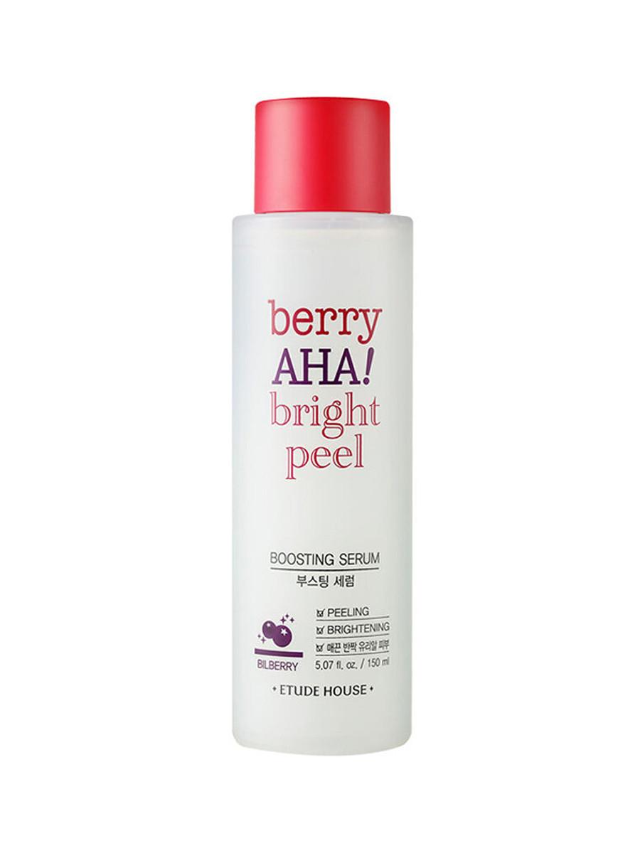 Пилинг сыворотка-бустер с AHA кислотами Etude House Berry AHA Bright Peel Boosting Serum 150 мл