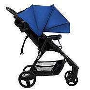 Коляска прогулочная CARRELLO Maestro CRL-1414 Orient Blue + Дощовик L Гарантія якості Швидка доставка, фото 2