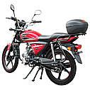 Мотоцикл SPARK SP125C-2XWQ (красный, синий, оранжевый, серый) + Доставка бесплатно, фото 4