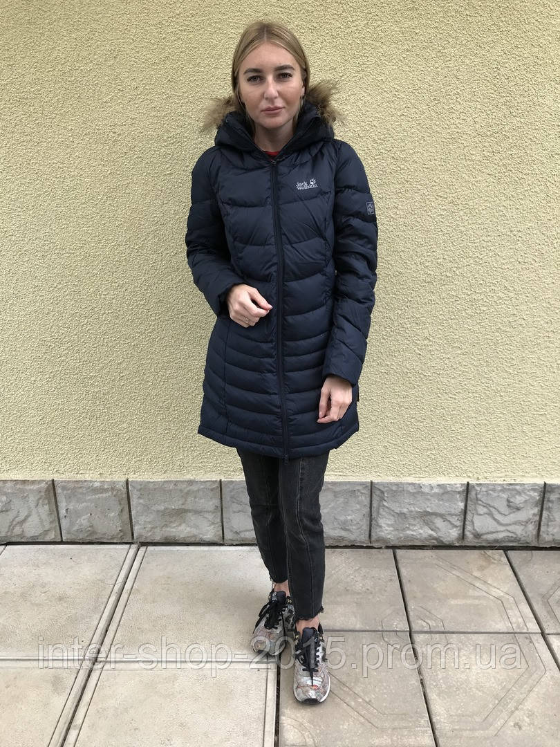 Женское пуховое пальто Jack Wolfskin SELENIUM BAY Jacket