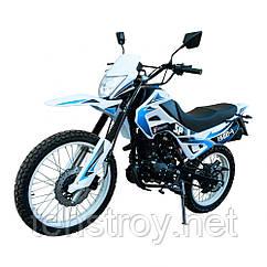 Мотоцикл SPARK SP150D-1 (черно-белый, сине-белый, красно-белый) + Доставка бесплатно