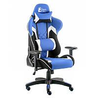 Кресло геймерское Special4You ExtremeRace 3 black/blue (E5647)