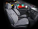 Накидки на сидения CarFashion Мoдель: CALIFORNIA бежевый, бежевый, бежевый    (21859), фото 6