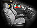 Накидки на сидения CarFashion Мoдель: CALIFORNIA бежевый, бежевый, бежевый    (21859), фото 7