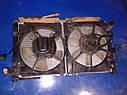 Радиатор охлаждение двигателя Mazda Xedos 9 1994-2002г.в. 2.5 бензин, фото 3