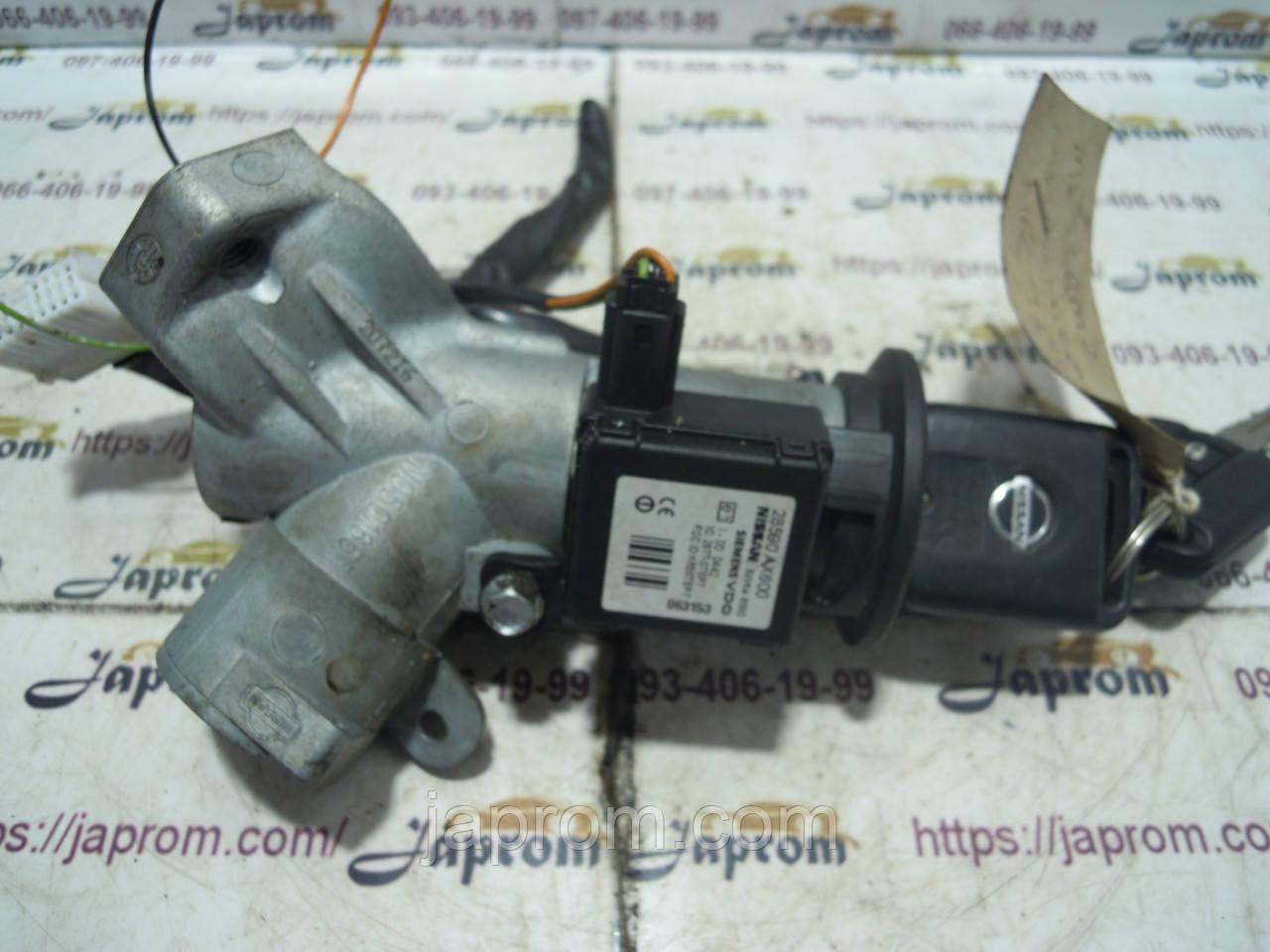Иммобилайзер+замок+ключ Nissan Micra K12 NOTE E11 2002-2010г.в. механика