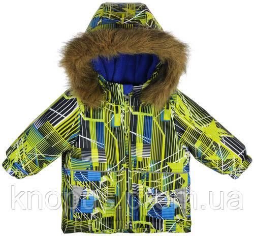 Зимняя куртка для мальчика, Garden baby, размеры  80, 86