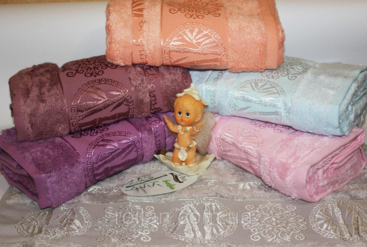 Банные бамбуковые полотенца Ексклюзив