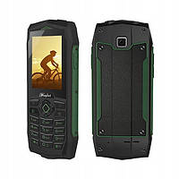 Защищенный мобильный телефон Rugtel R1 green 3G +Wi-Fi