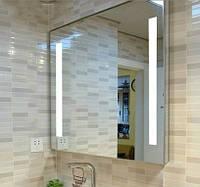 Зеркало с светодиодной подсветкой, индивидуальный размер
