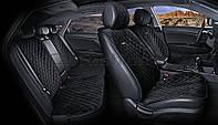 Накидки на сидіння CarFashion Модель: CALIFORNIA PLUS чорний, чорний, чорний (22414), фото 1