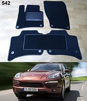 Коврики на Porsche Cayenne '10-17. Текстильные автоковрики